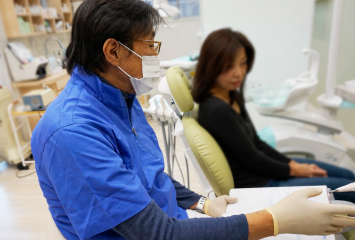 歯医者カウンセリング